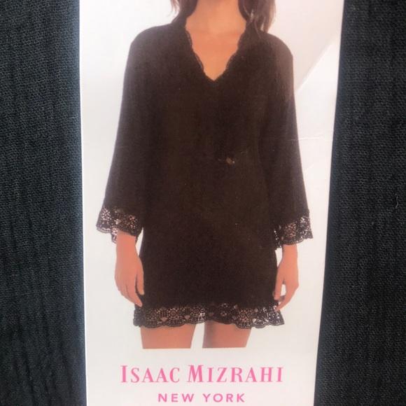 44cdc4bccc Isaac Mizrahi Swim   Beach Suit Cover Up Crochet Trim   Poshmark